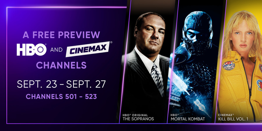HBO and CINEMAX Free Preview