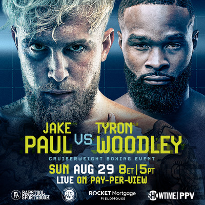 Tyron Woodley Will Be Jake Paul's Most Challenging Opponent